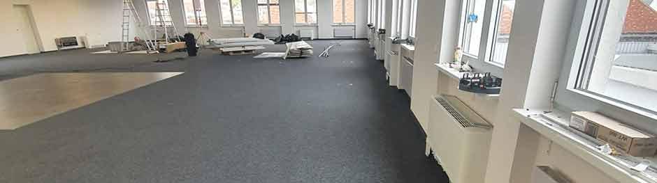 Belagssanierung von Doppelboden und Doppelbodenanlagen