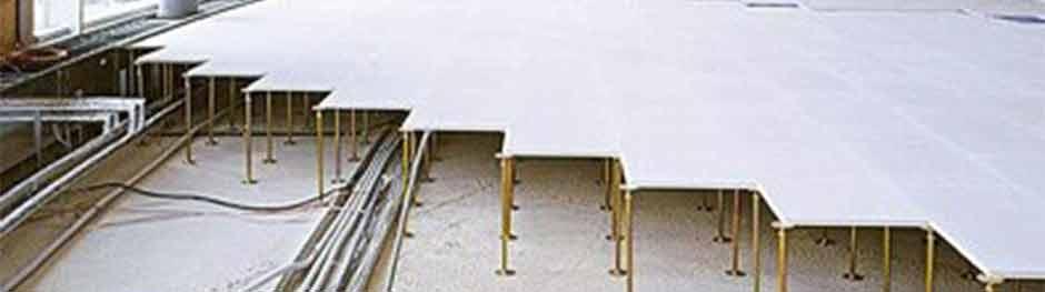 Flächen und Hohlraumboden im Trockenbau
